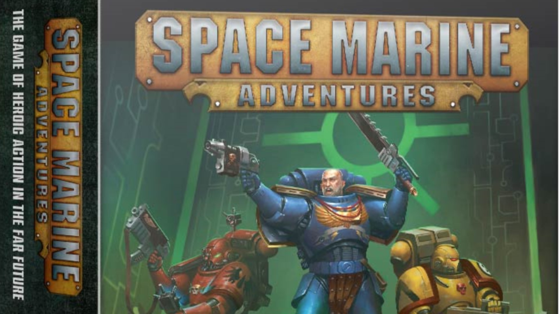 NEWS: Games Workshop bring Space Marine Adventures to the